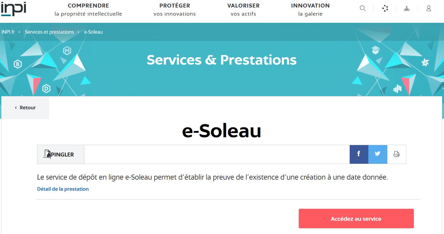 e-Soleau
